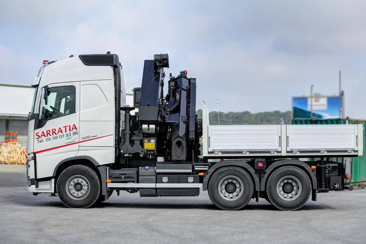 Le Volvo FH4, un atout supplémentaire pour SARRATIA