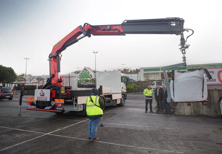 Partenariat Sarratia Leroy Merlin Taldea Transport Et Logistique